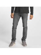 Solid Slim Fit Jeans Joy grau