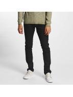 Solid Slim Fit Jeans Joy schwarz