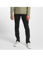 Solid Slim Fit Jeans Joy zwart
