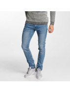 Solid Straight Fit Jeans Joy blau