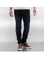 Solid Straight fit jeans Dexter Stretch zwart