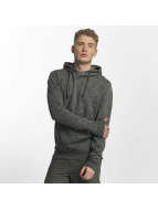 Solid Sweat capuche Leandro gris