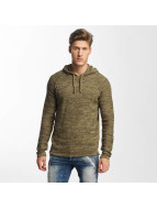 Solid Sweat capuche Jusa olive