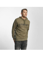 Solid Sweat capuche Keenan olive