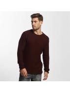 Solid Swetry Jarah Knit czerwony