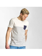 Solid T-shirt Halle bianco