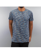 Solid t-shirt Denny blauw