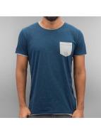 Solid t-shirt Geronte blauw