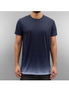 Solid t-shirt Hampton blauw