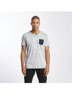Solid t-shirt Kasen blauw