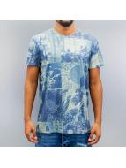 Solid T-Shirt Brody bleu