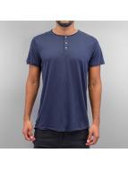 Solid T-Shirt Barron bleu