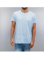 Solid T-Shirt Cassio bleu