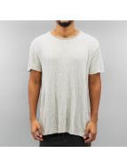 Solid t-shirt Blaise grijs