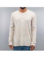 Solid T-Shirt manches longues Caleb gris