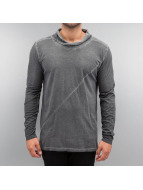 Solid T-Shirt manches longues Elessar gris
