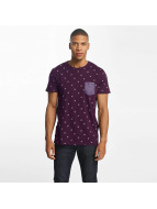 Solid t-shirt Joby rood