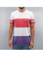 Solid T-Shirt Caledon rouge