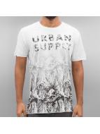 Solid T-Shirt Gian weiß