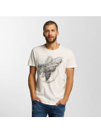 Solid t-shirt Jacot wit