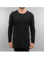 Solid trui Knit Edmond zwart