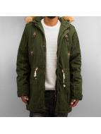 Solid Veste d'hiver Probert vert