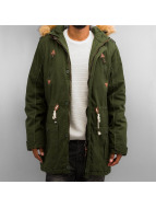 Solid winterjas Probert groen