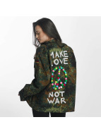 Soniush Демисезонная куртка Peace Jacket камуфляж