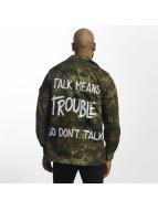 Soniush Демисезонная куртка Trouble камуфляж