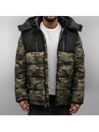 Southpole Демисезонная куртка Bubble камуфляж