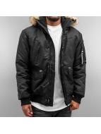 Southpole Демисезонная куртка Bomber черный