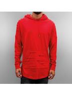 Southpole Bluzy z kapturem Cut czerwony