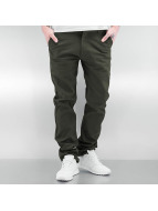 Southpole Chinos Flex oliven