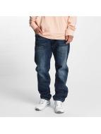 Southpole Dżinsy straight fit Slim niebieski