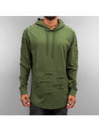 Southpole Hoodie Cut olive