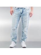 Southpole Jean coupe droite Ripped Slim bleu
