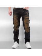 Southpole Jeans Straight Fit Ripped Slim indigo