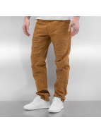 Southpole Jeans straight fit Slim marrone