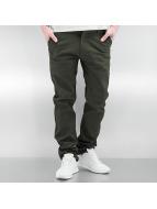 Southpole Kumaş pantolonlar Flex zeytin yeşili
