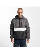 Southpole Lightweight Jacket Colorblock Anorak gray