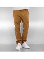 Southpole Pantalon chino Flex brun