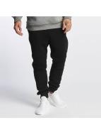 Southpole Pantalón deportivo Fleece negro