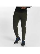 Southpole Camo Block Fleece Sweatpants Olive