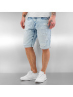 Southpole Shorts Ripped blau