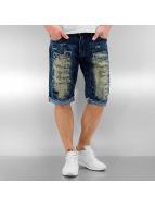 Southpole Shorts Ripped bleu