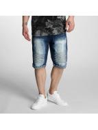 Southpole Shorts Biker bleu