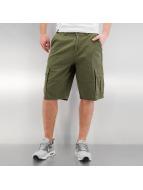 Southpole shorts Flex olijfgroen
