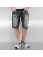 Southpole Shorts Ripped svart