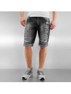 Southpole shorts Ripped zwart