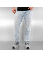 Southpole Ripped Slim Straight Jeans Light Sand Blue